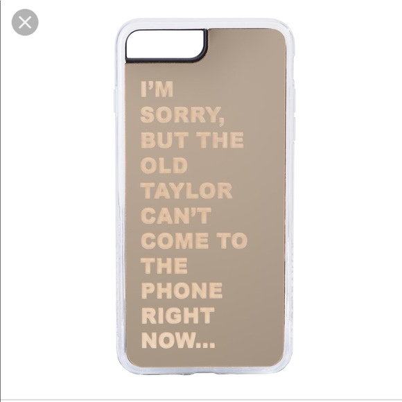 promo code 54c7e 4409c Taylor Swift Reputation iPhone 6S 7 8 Plus Case